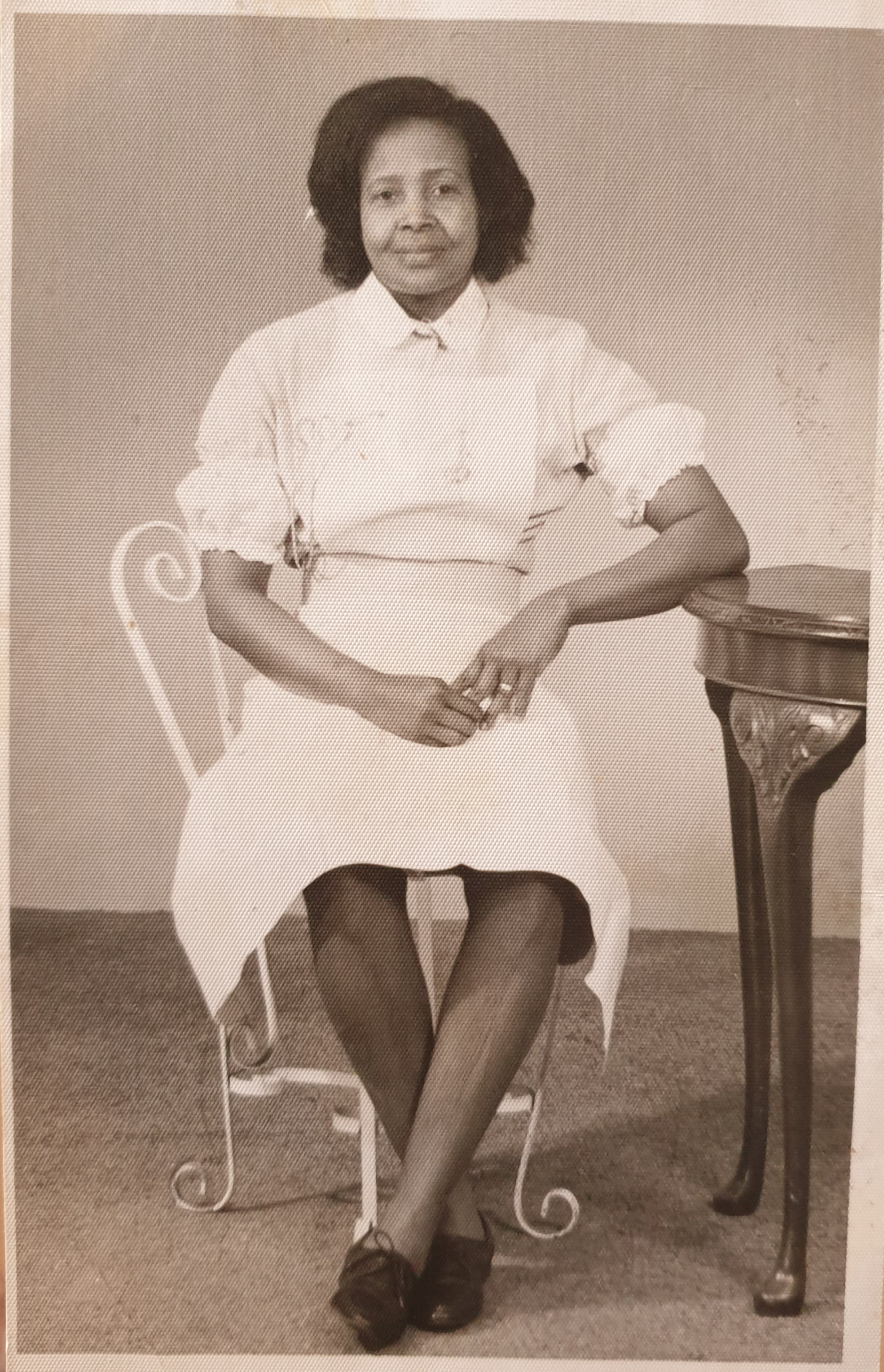 Lucilda Wynter who trained as a nurse in 1966