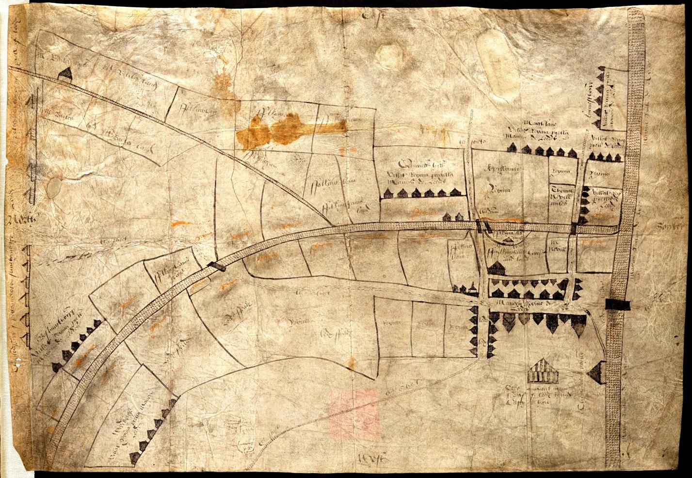 FIRST MAP OF LEEDS