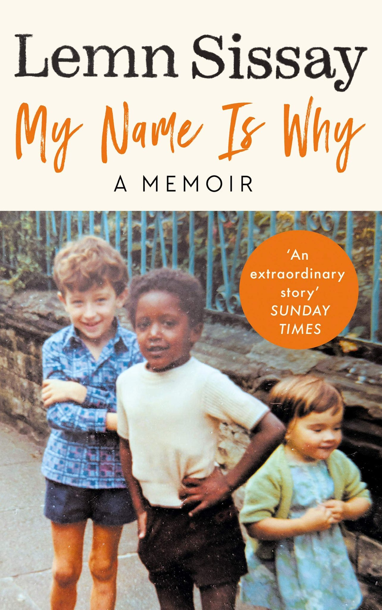 cover of lemn sissay's book 'my name is why'