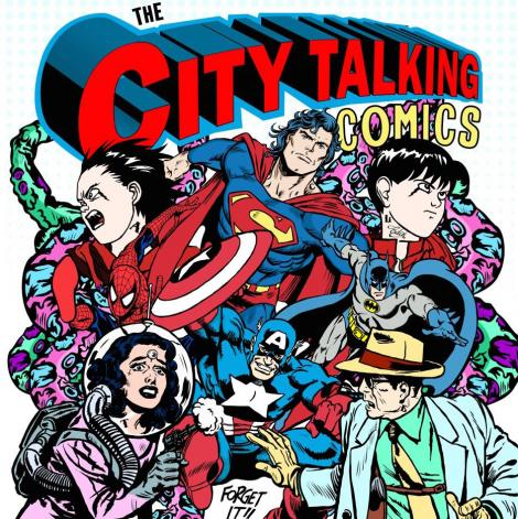 Image for The City Talking: Comics