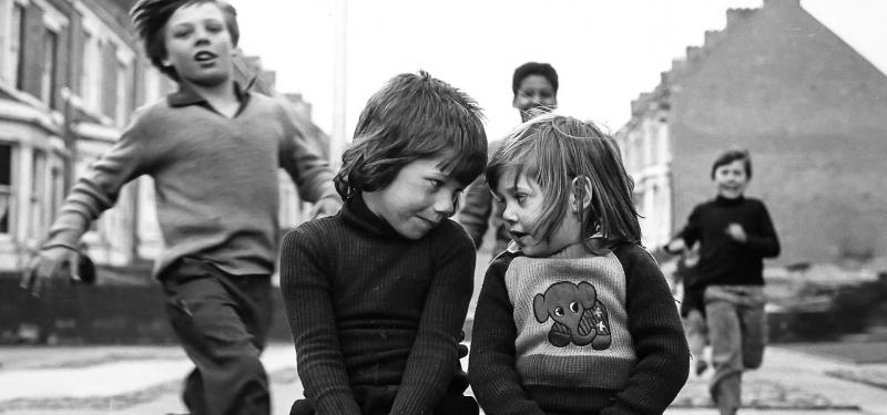 Youth Unemployment + Elswick Kids by Tish Murtha