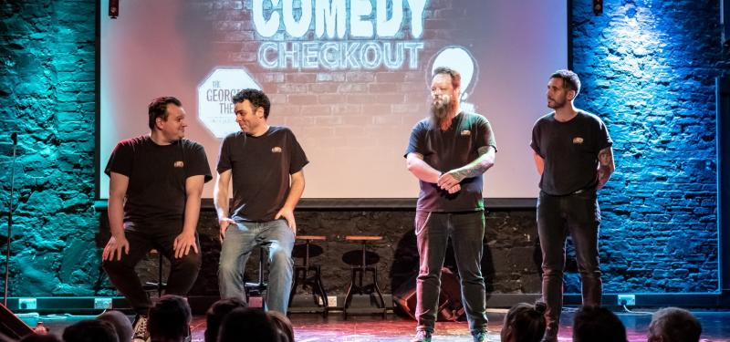 The Discount Comedy Checkout - Improv Comedy Night at the Fenton