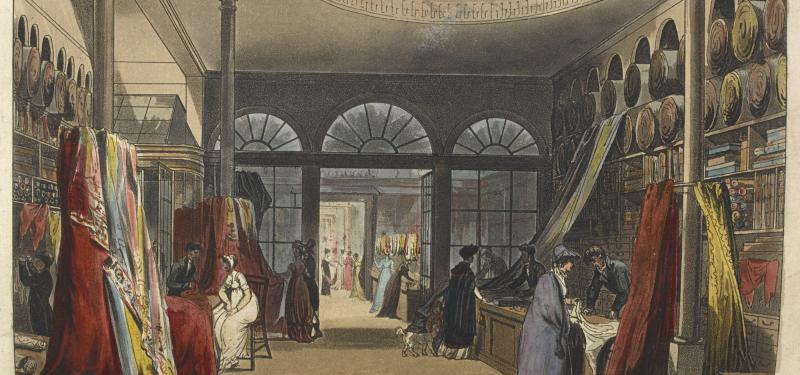 Museum Talk: Consuming Passions - Experiences of Shopping in Georgian England