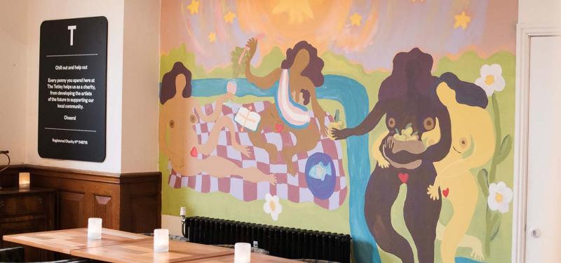Café Commission: Herfa Thompson, Synapses Under A Vast Sky