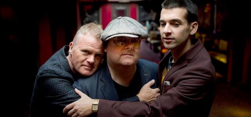 Ian Shaw with Iain Ballamy and Jamie Safir