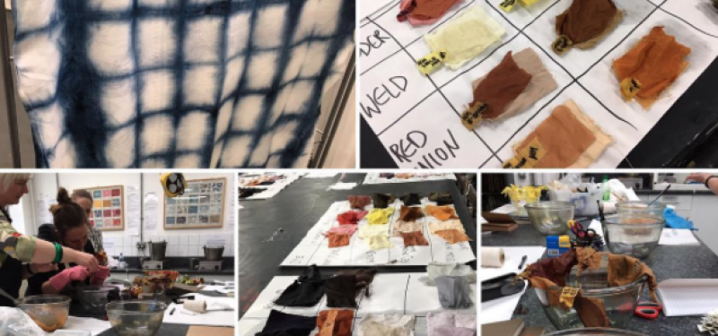Natural Dyeing and Printing Course