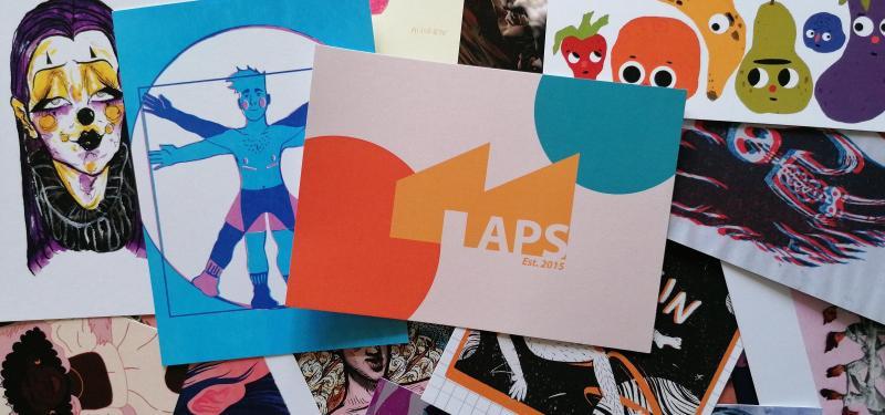 LGBTQIA+ Postcard Exhibition