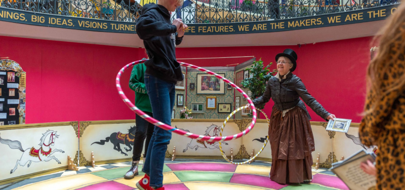 Miss Lily's Victorian Circus Game