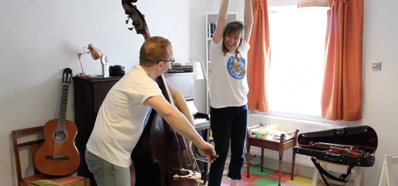 Make The Paint Dance: Zoom Music, Movement and Storytelling Workshop