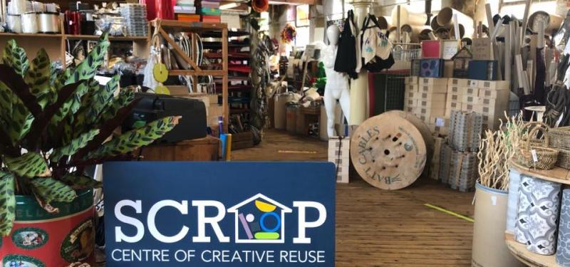 Scrap Creative Reuse Art Project
