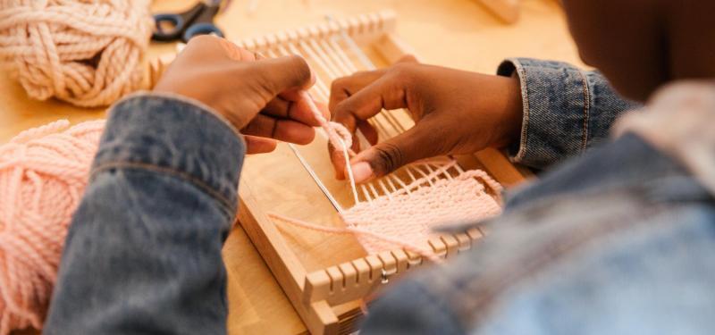 Makers & Shakers - Weaving Words Workshop