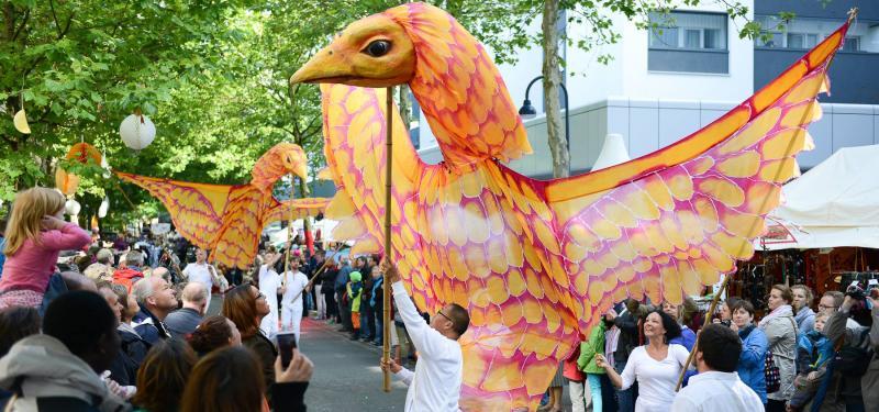 Puppet Parade Workshop - Giant Sunbirds