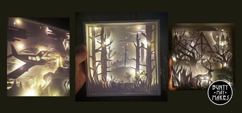Makers & Shakers - Make an illuminated box frame