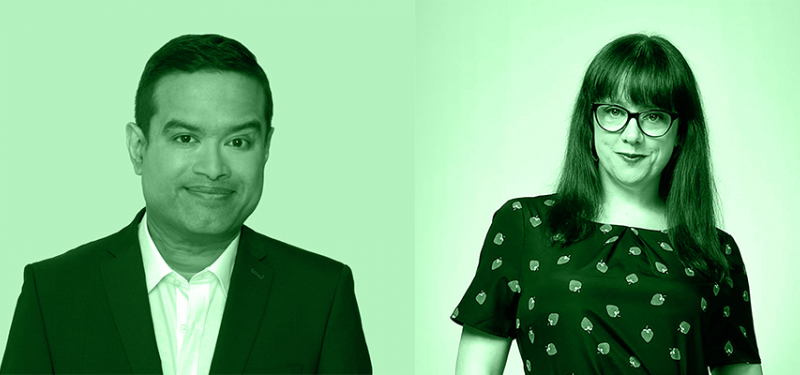 Paul Sinha & Angela Barnes: Live From Their Living Rooms