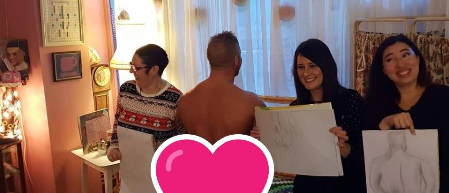 Fun Life Drawing Class & Afternoon Tea with Prosecco