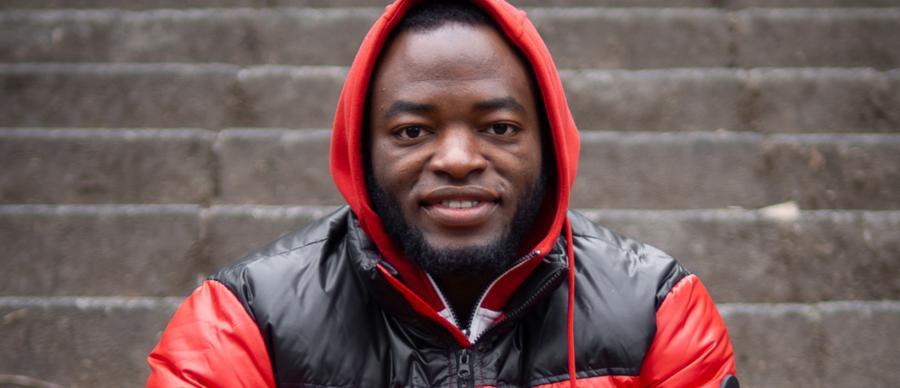 Image shows Abdullah Adekola