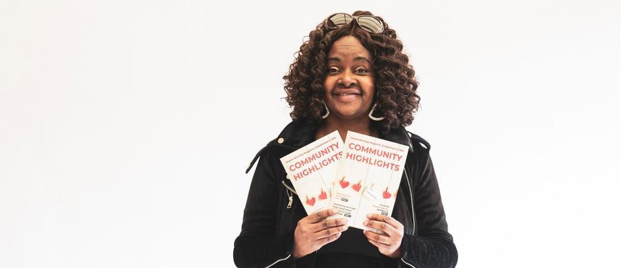 Image of Patricia Jones, founder of Community Highlights Magazine