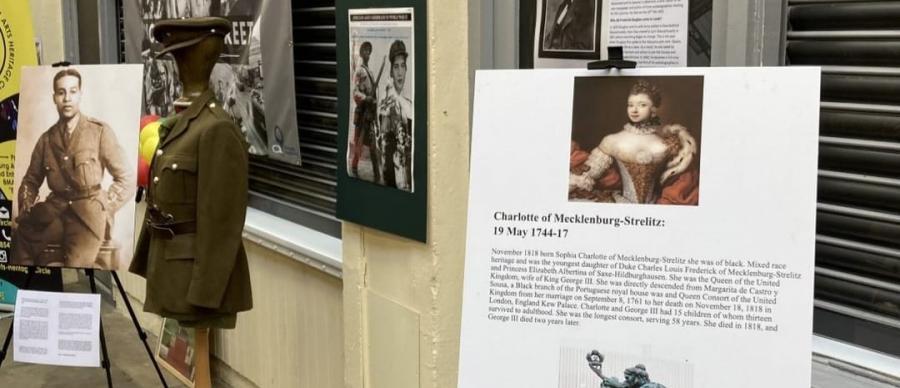 exhibition of black history