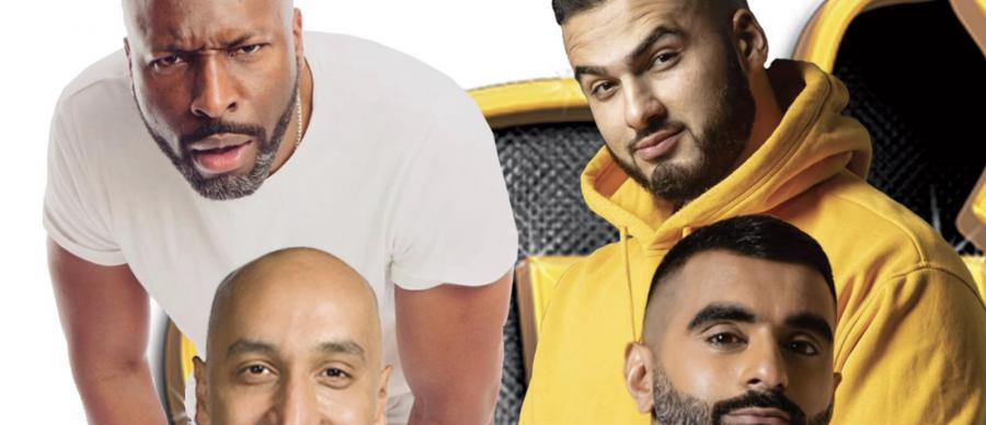 Desi Central presents Tommy Sandhu, Tez Ilyas, Kae Kurd, Kane Brown.