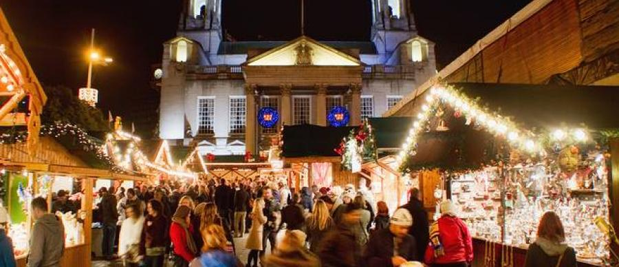 Christmas Fair Craft In Leeds