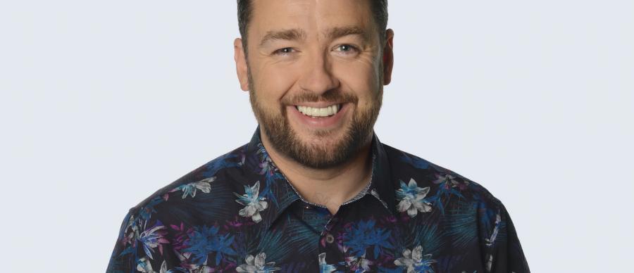 Jason Manford smiling