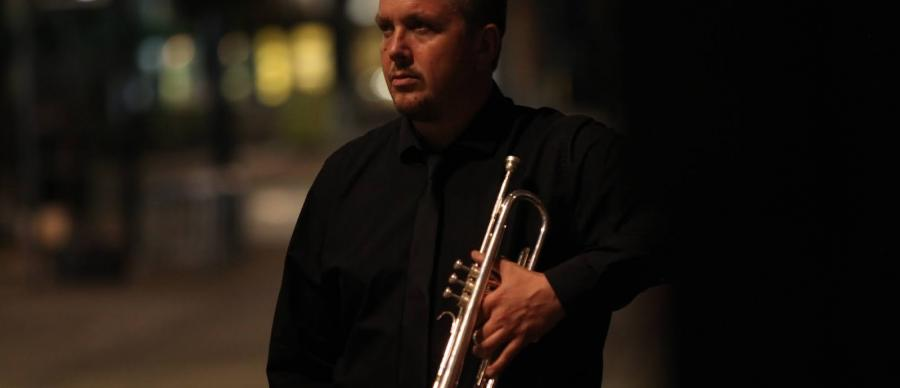 Image of Malcolm Strachan jazz trumpeter