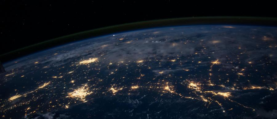 earth from space
