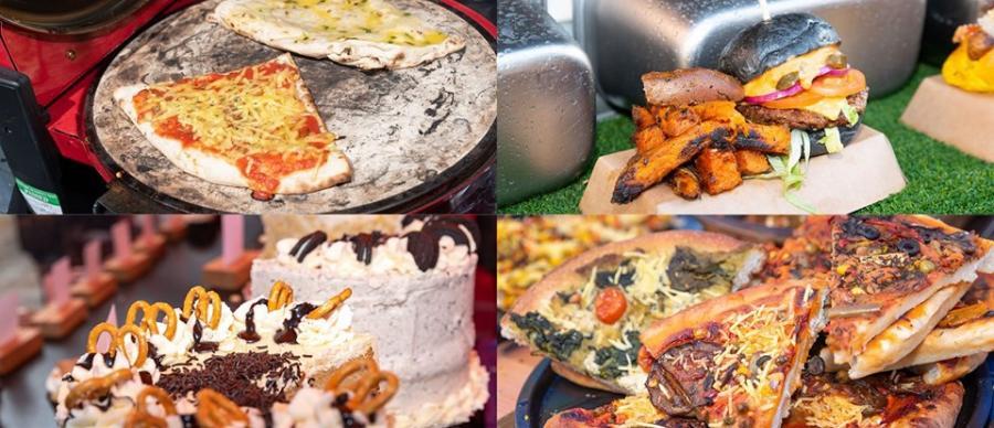 Leeds Kirkgate Vegan Markets