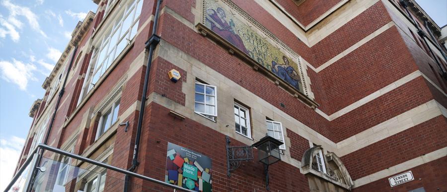 Leeds Arts University Vernon Street Gallery