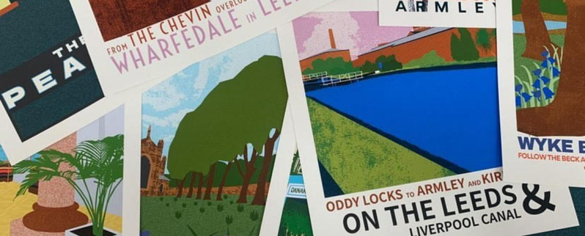Ellie Way's Leeds Travel Posters