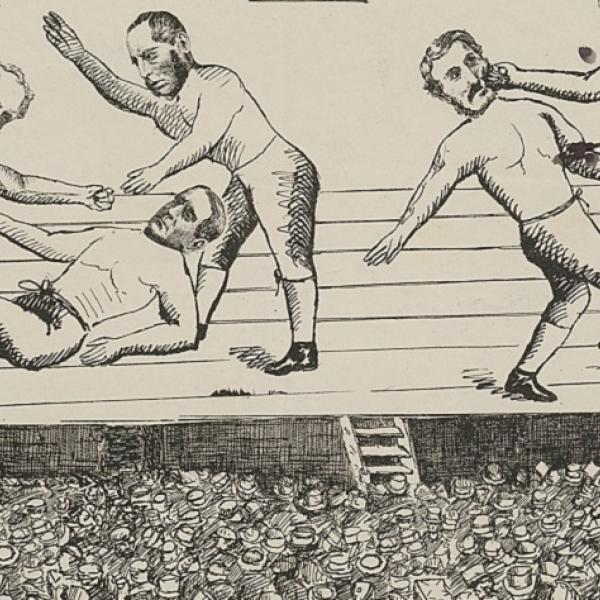 19th-century Leeds: Political Cartoons in the Central Library Collections