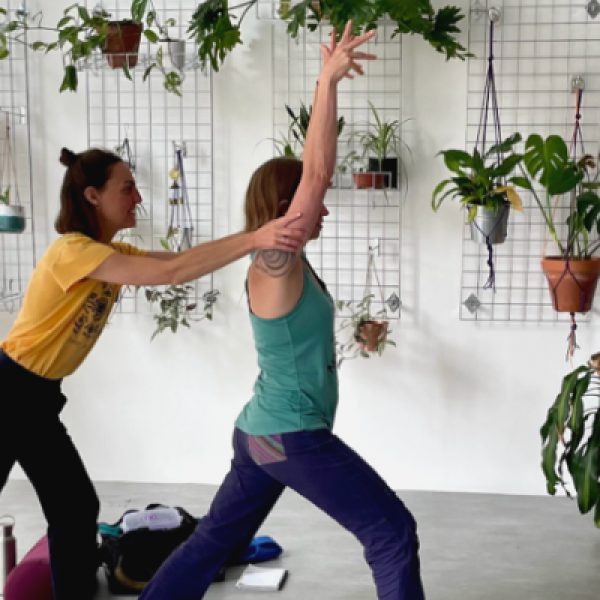 STUDIO | Adjustments: An introduction and refresher for yoga teachers