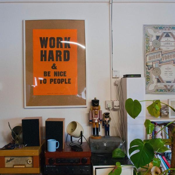 Lord Whitney: work hard & be nice