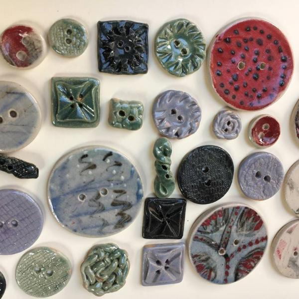 Ceramic Button/Tile Making
