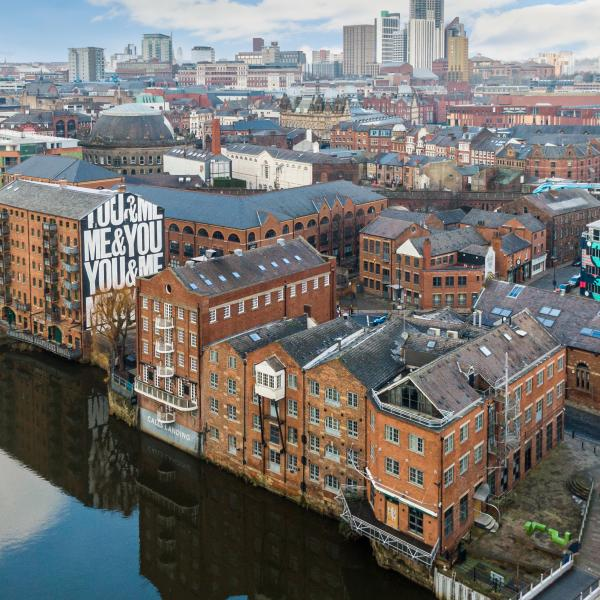 A New Mural For Leeds: You & Me, Me & You