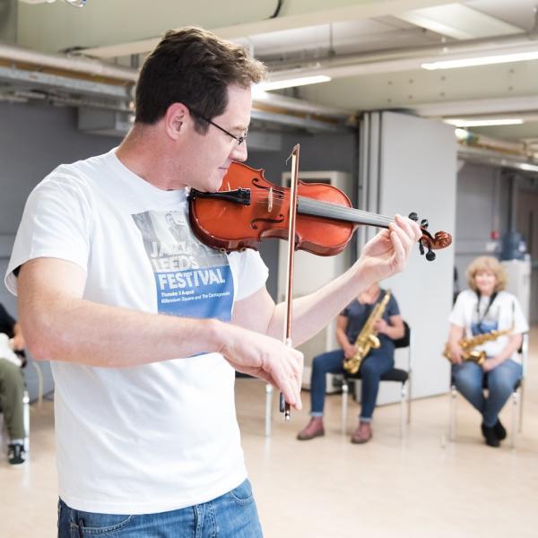 Jazz Workshop leader Dom Moore