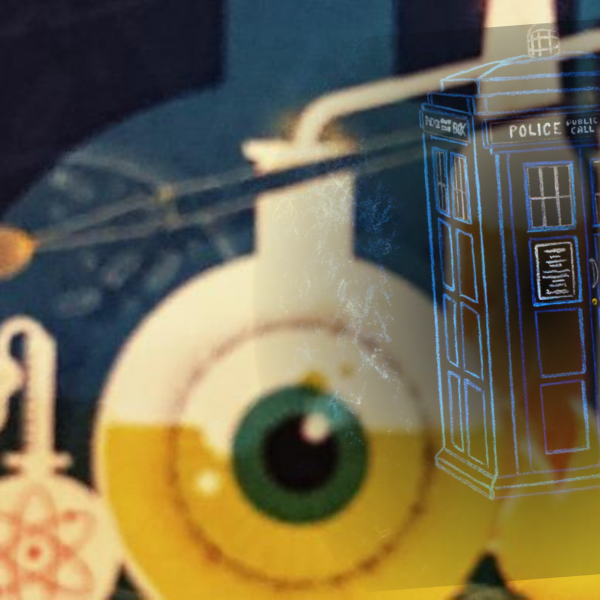 Quantum Sauce - the Science behind three Dr Who episodes!