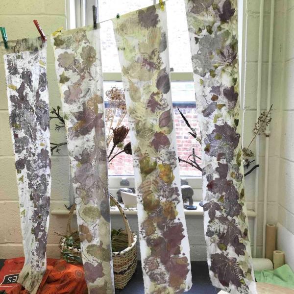 Eco Printing Introduction Workshop