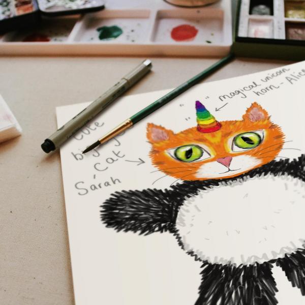 Family Art Workshop: Family Mascot Mask Making