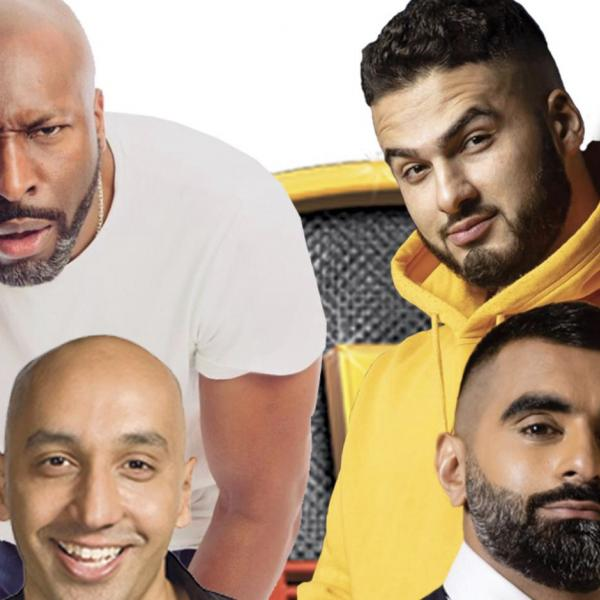 Desi Central presents Tommy Sandhu, Tez Ilyas, Kae Kurd, Kane Brown.