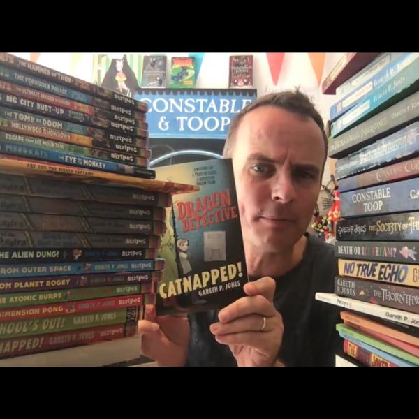 Summer Reading Challenge Online with Gareth P Jones