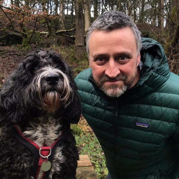 Harry Heape and Dog