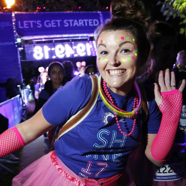 Cancer Research UK Leeds Shine Night Walk 2021