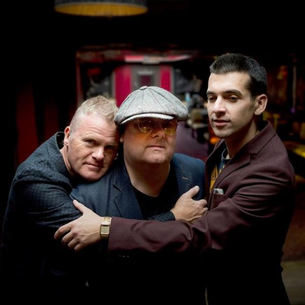 Ian Shaw with Iain Ballamy and Jamie Safir, jazz trio extraordinaire