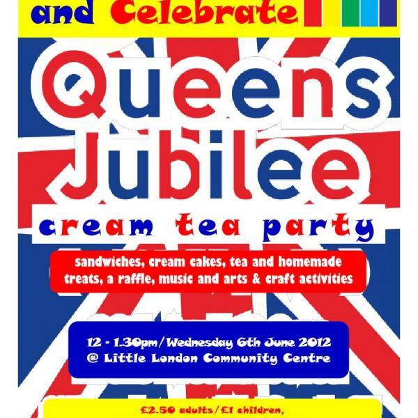 CALLS Jubilee Cream Tea Party