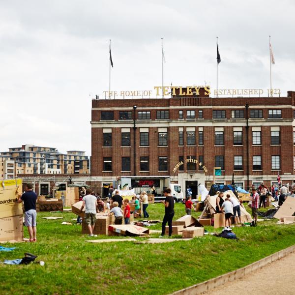 Leeds Den Building Festival 2016