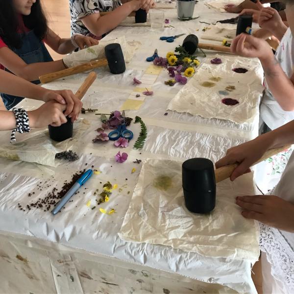 Makers & Shakers -  Natural Printing Workshop