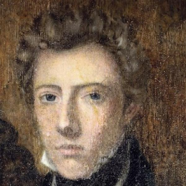 Portrait of James Barry, surgeon who was known as female in childhood but lived as a man.