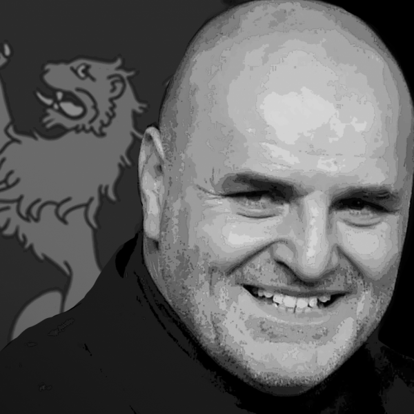 An images of John Fury with the details of the evening