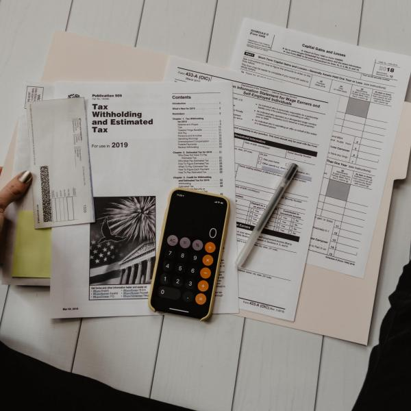 tax and bookkeeping forms